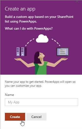 Build a PowerApp