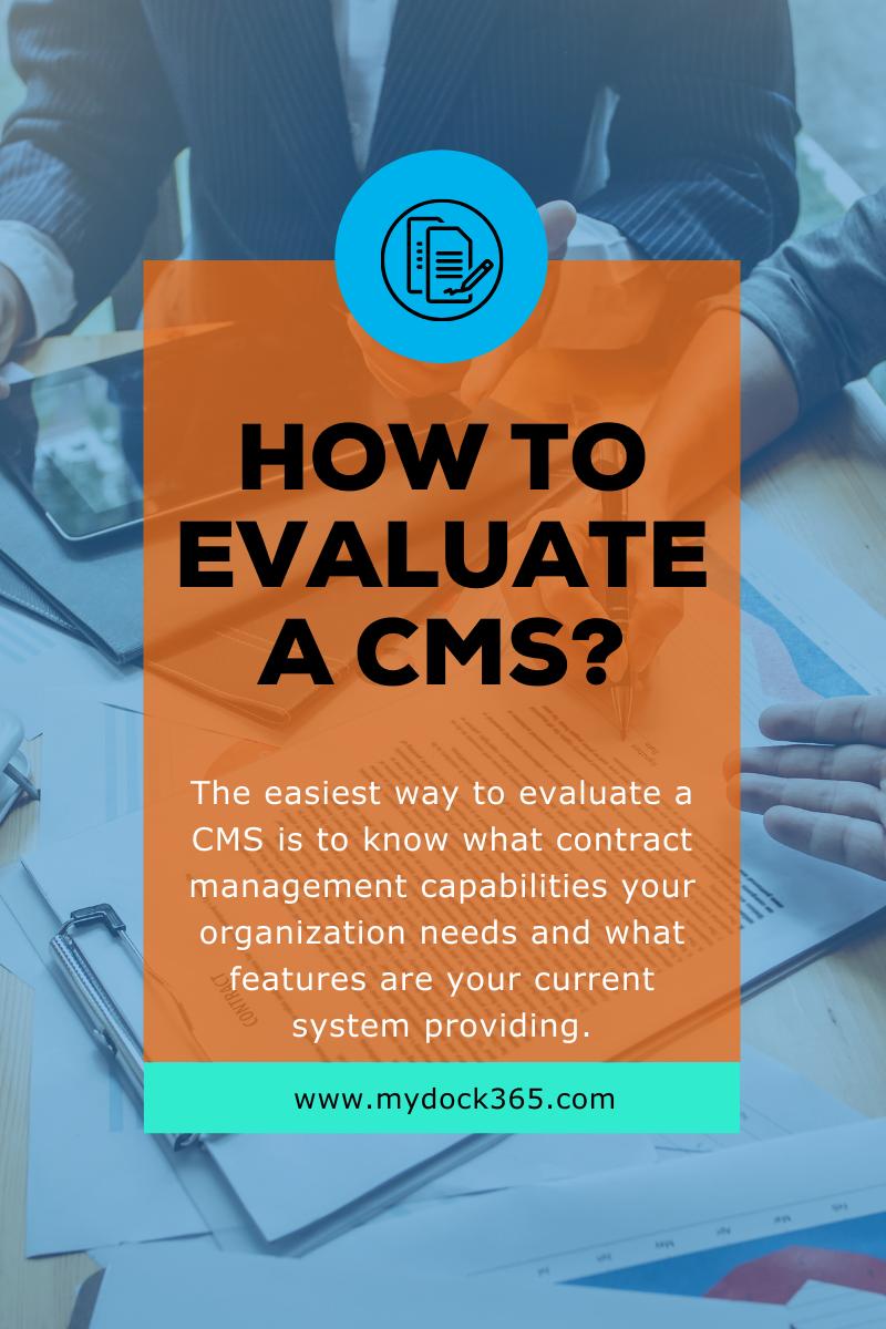 CMS Blog 1 Graphic - Evaluating CMS