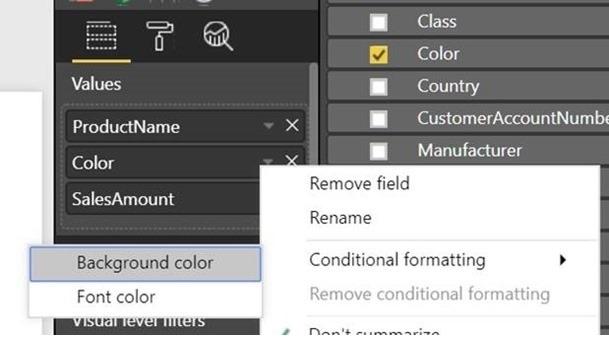 Color Conditional Formatting