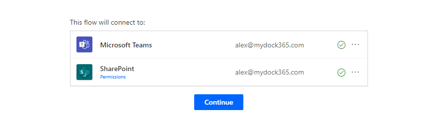 Connecttions - notify when a file is added to SharePoint