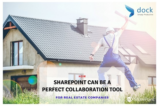 How SharePoint Can be a Perfect Collaboration Tool for Real Estate Companies_Banner