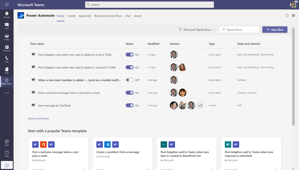 How to Automate Daily Tasks with Power Automate App in Microsoft Teams - Screenshot 1