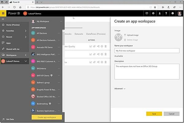 Power BI - Enabling your team with new workspace environment
