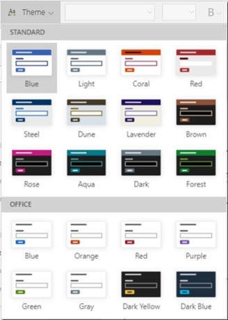 PowerApps Update Alert! New Office Themes & Contrast
