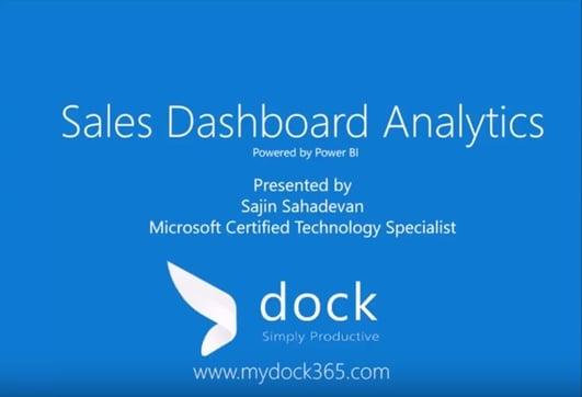 Sales Dashboard Analytics - Dock