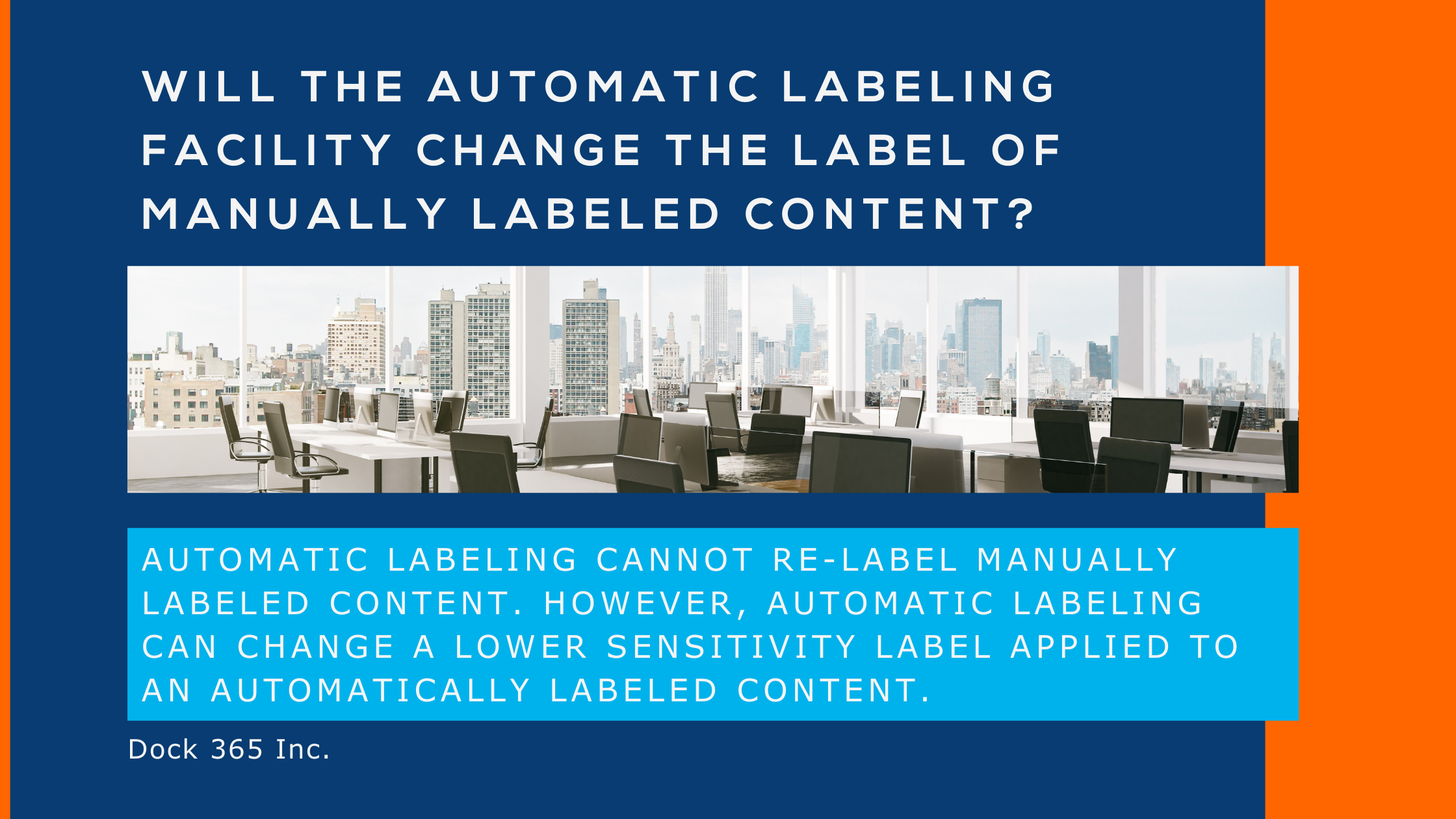 Tech Blog - Graphic - How to apply sensitivity labels automatically