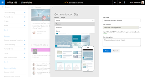 communication-site-layout-from-several-site-templates.png