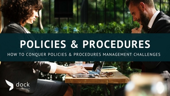 b2043d57f4 How to Conquer Policies and Procedures Management Challenges
