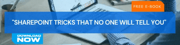 Ebook CTA SharePoint Tricks That No One Will Tell You