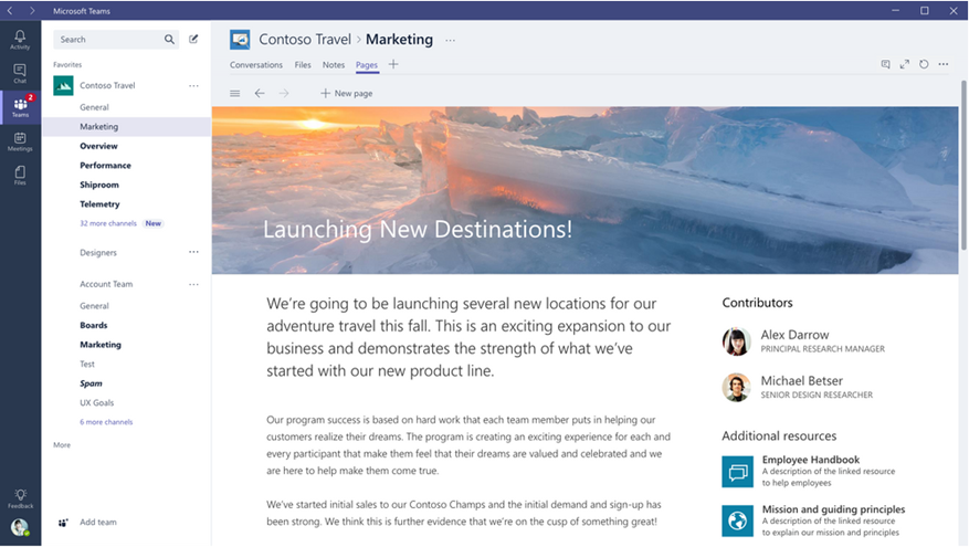 microsoft teams screen