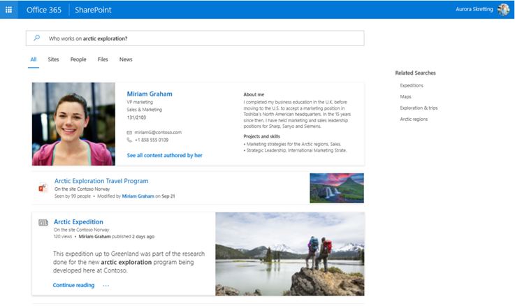 personalized-search-in-sharepoint