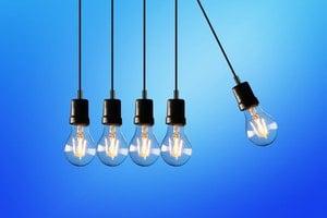 duplicate lightbulbs on strings