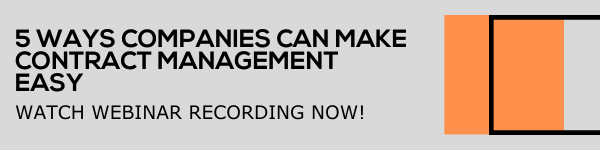 Webinar Recording CTA - 5 Ways Companies Can Make Contract Management Easy